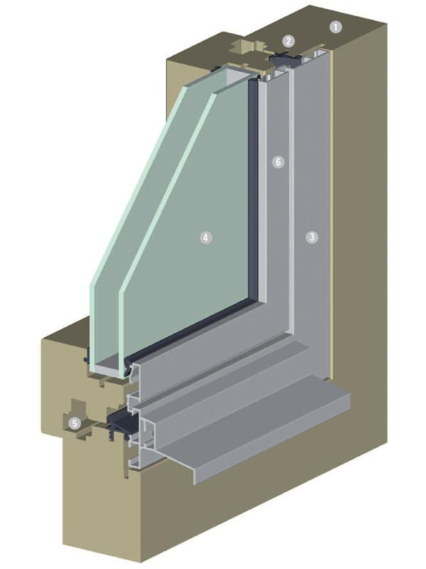 connex cube von jansen system f r holz metall fenster. Black Bedroom Furniture Sets. Home Design Ideas